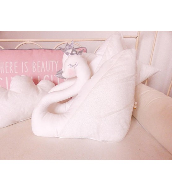 """Coussin """"Cygne"""""""