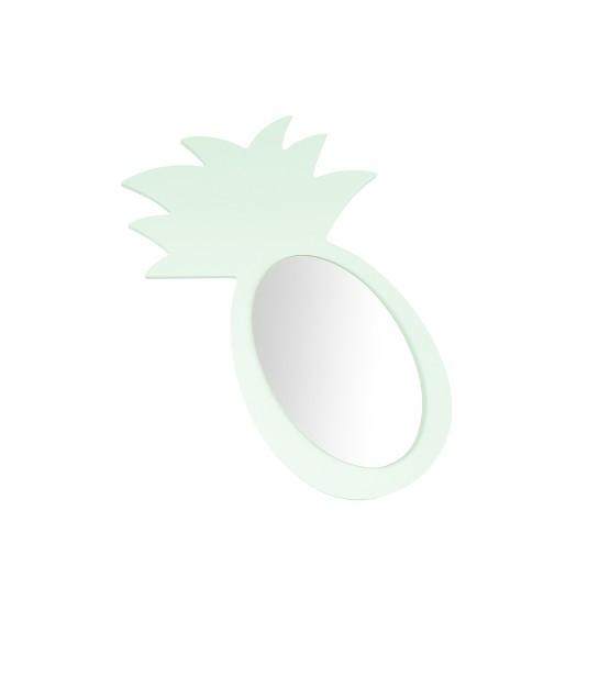 "Miroir Ananas ""Mint"" - Personnalisable"