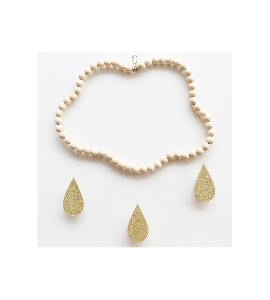 "Mobile Nuage en perles ""Camille"""