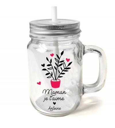 """Mug Vintage """"Maman"""" Personnalisable"""