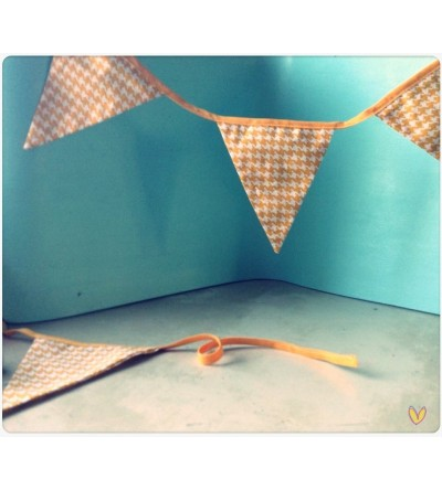 Guirlande fantaisie - 8 fanions
