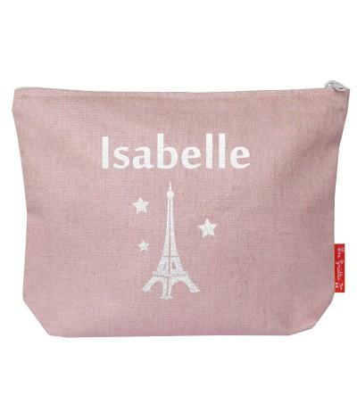 """Pochette Maman """"Tour Eiffel"""" - Personnalisable"""