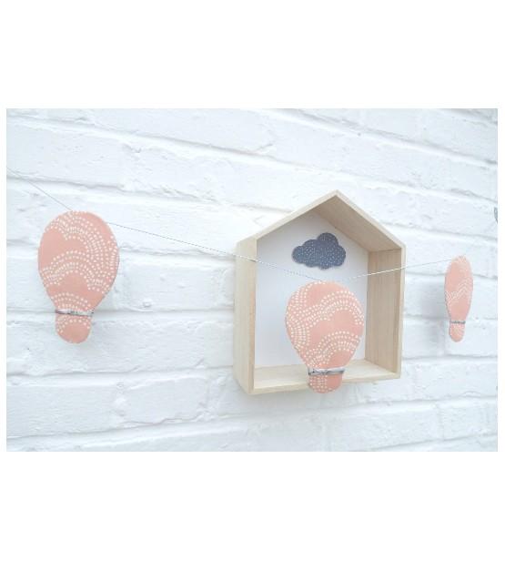 Guirlande décorative Montgolfière