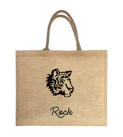 """Eye of the Tiger"" le Cabas qui rock un max! - Personnalisable"