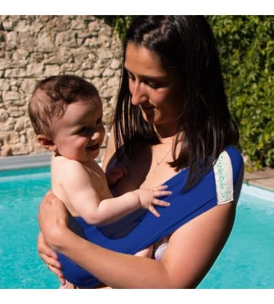 Aquabulle Bleu - Porte-bébé d'appoint aquatique