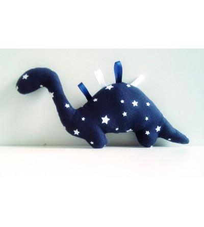 """Peluche décorative """"Dino Pluie d'étoiles"""""""