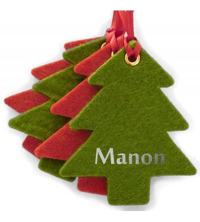 """Kit décoration de Noël """"Sapin"""" - Personnalisable"""