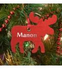 """Kit décoration de Noël """"Renne"""" - Personnalisable"""