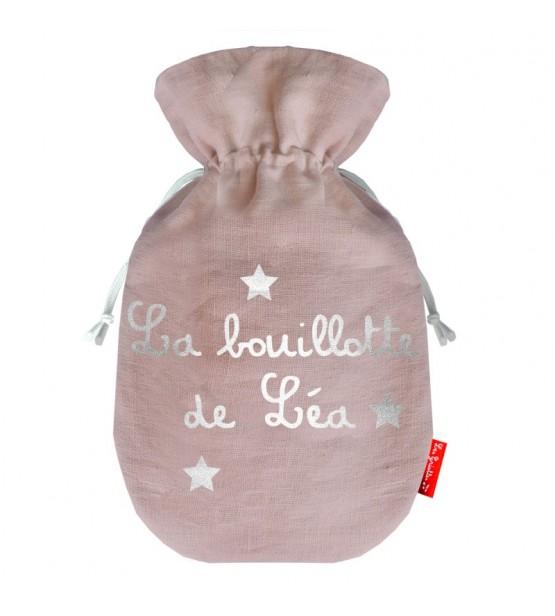 """Bouillotte Cocoon """"Mauve"""" - Personnalisable"""