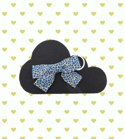 """Porte-Clé """"Fleur bleue"""""""