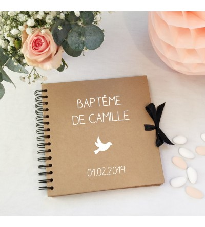 "Album - Livre d'or Baptême ""Kraft"""