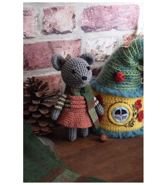 """Peluche décorative """"Martine, la souris"""""""