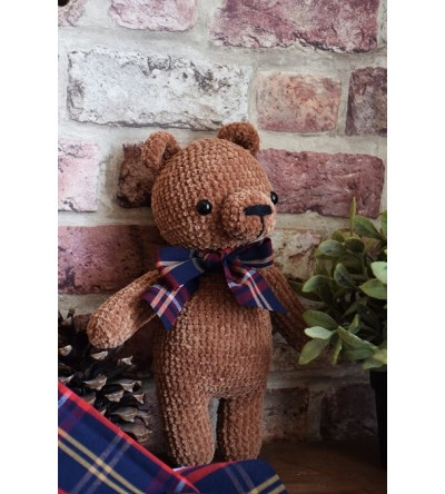 "Peluche au crochet ""Gaston l'ourson"""