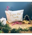 """Trousse """"Joyeux Noël"""" - Personnalisable"""