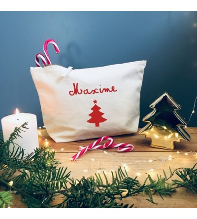 "Trousse ""Sapin"" - Personnalisable"