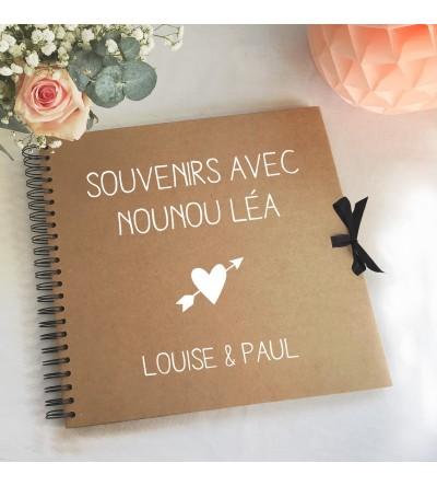 Livre d'or Nounou / Maîtresse - Personnalisable
