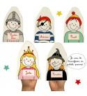 """""""Guignol ne fera plus le fier!.."""" - Kit de 5 Marionnettes à personnaliser"""