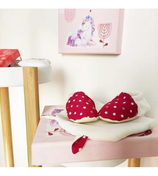 """La Baby Box 2 en 1 """"Licorne"""" - Un coffret cadeau réutilisable en tableau!"""