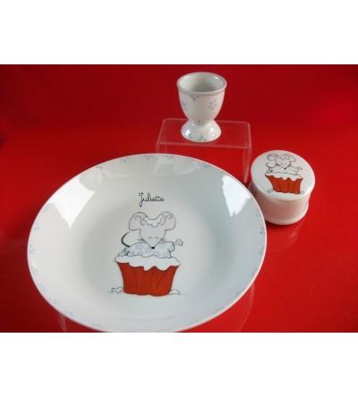 """Coffret cadeau """"Souris gourmande""""- Personnalisable"""