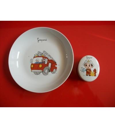 """Coffret cadeau """"Pompier""""- Personnalisable"""