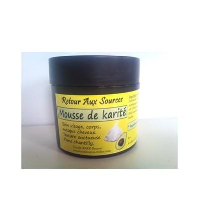 Mousse de Karité