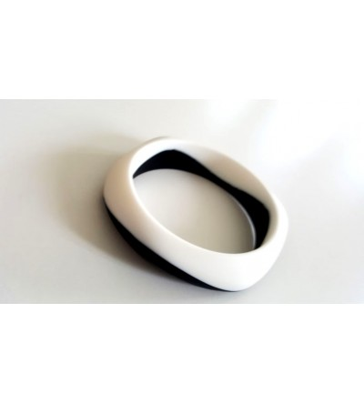 """Bracelet Maman-Bébé  """"Blanc et Noir"""""""