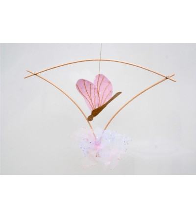 "Mobile Libellule ""Akitsu"", Rose"