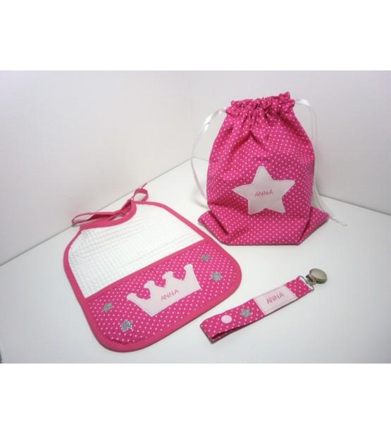 """Coffret cadeau naissance """"Princesse"""" - Personnalisable"""