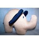 """Peluche décorative """"Eléphant"""""""