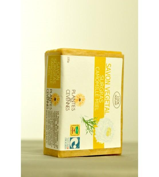 Savon végétal Miel-Camomille