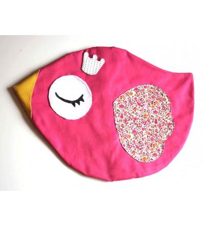 "Range Pyjama ""Pink Piou Piou"""