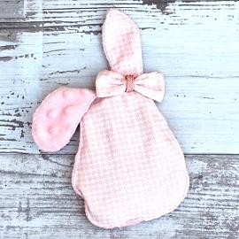 Cadeau bébé fait main bouillotte bébé rose