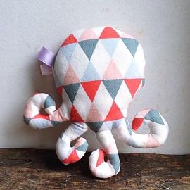 Création cadeau bébé fait main peluches décoratives