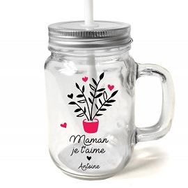 Cadeau de naissance mug maman